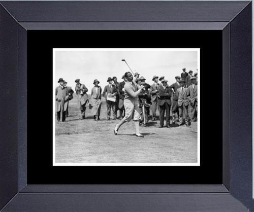 Golf Legend Of Golf Walter Hagen Framed Art Photograph Print
