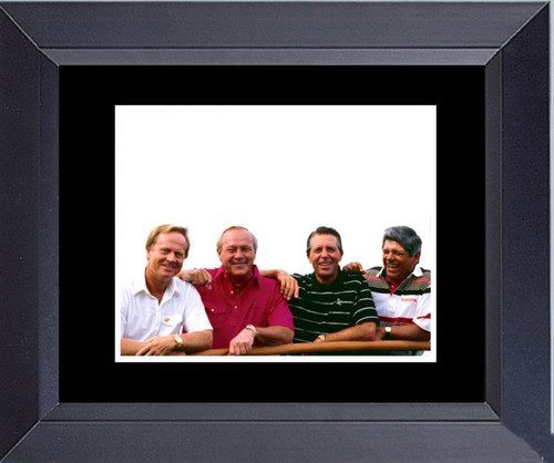 Trevino Nicklaus Palmer Player Legends Of The Game Of Golf Framed Art Photograph Print