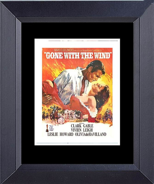 Gone With The Wind Framed Art Photograph Print