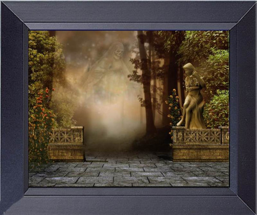 Ghost In The Garden Can You Find Him Framed Art Photograph Print