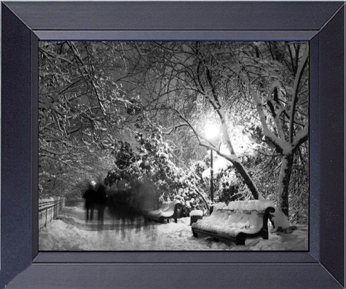 Shadows Of Ghosts Haunting In The Park. Framed Art Photograph Print