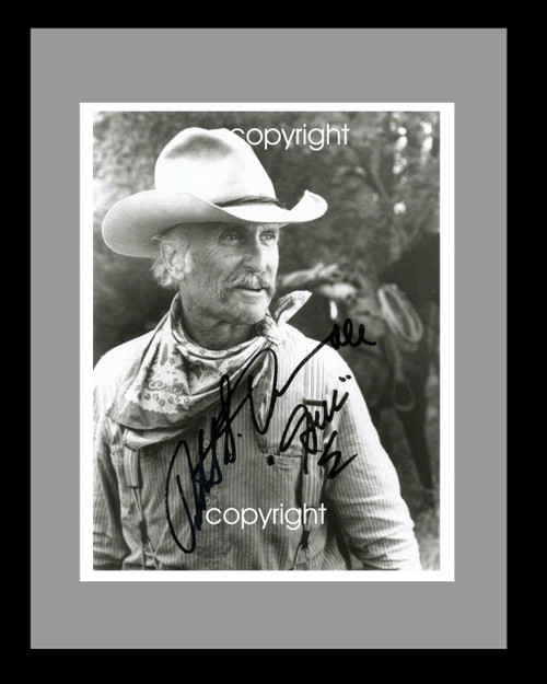 Gus Signed Lonesome Dove