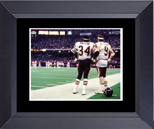 Walter Payton And Jim Mcmahan Chicago Bears