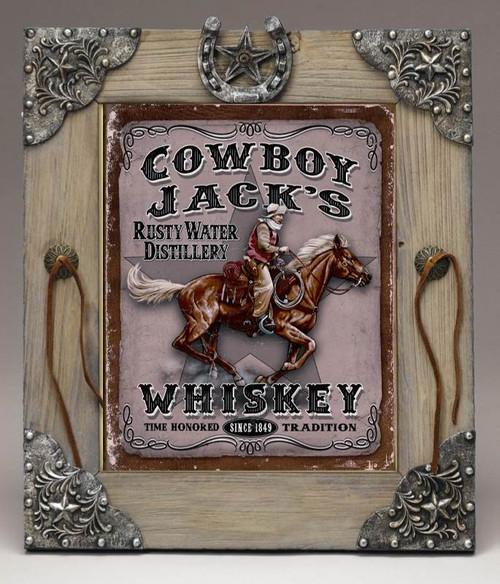 Cowboy Jacks Distillery Whiskey Framed Art Photograph Print