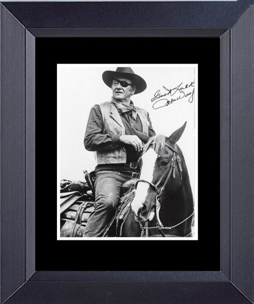 John Wayne In True Grit Rooster Cogburn Framed Art Photograph Print