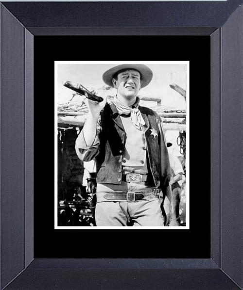 John Wayne In Rio Bravo Framed Art Photograph Print