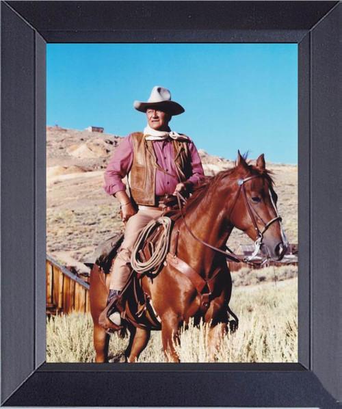 John Wayne In The Comanchero Framed Art Photograph Print