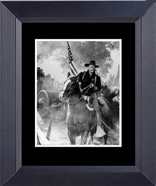 John Wayne In The Horse Soldier Framed Art Photograph Print