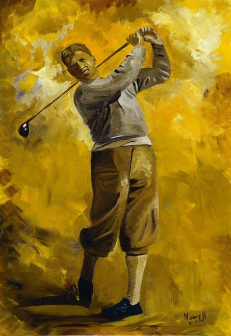 Bobby Jones Oil Painting Staring  Kevin Costner Robert Duval