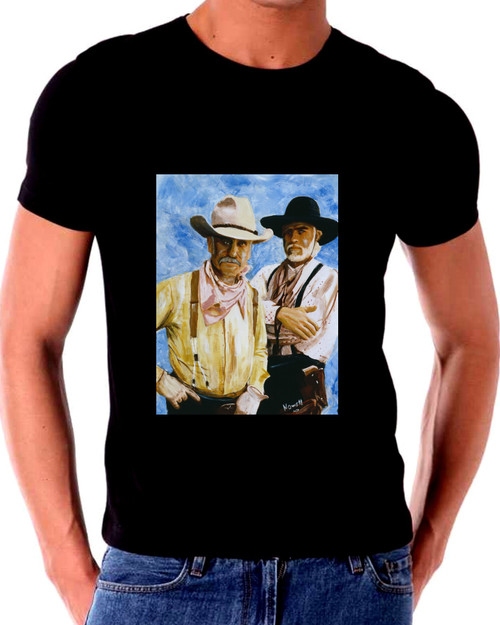 Lonesome Dove T shirt Gus and Call 3