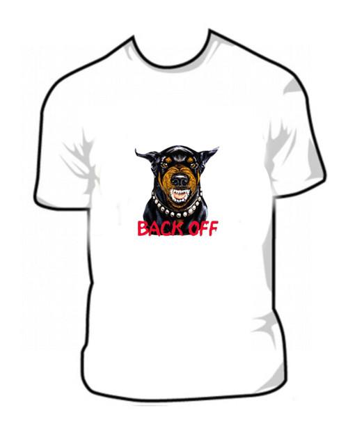 Back Off Security Dog T Shirt