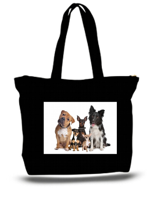 XXL Tote Bag Dogs Best Friend