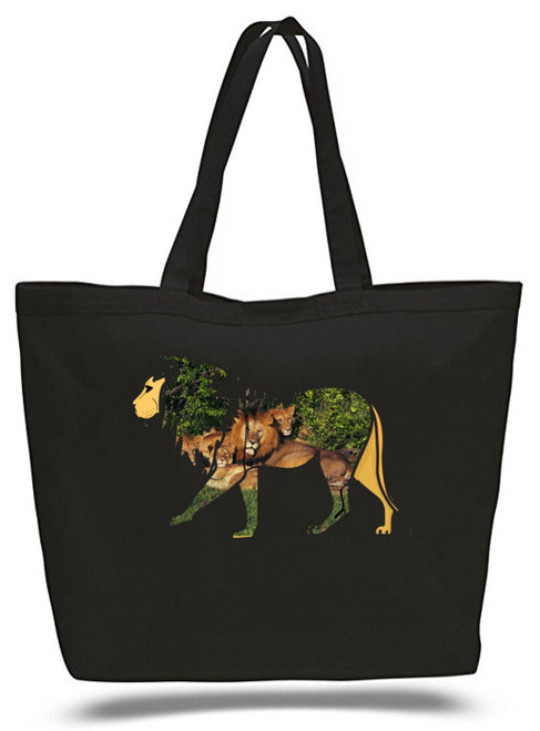 XXL Tote Bag Lion King Of Jungle