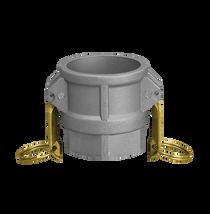Part D Full-Flow Female Camlock Adapter