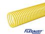 Flextube PU - Leaf Vacuum Hose w/ Wearstrip