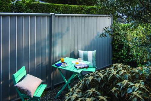 Zig Zag Colorbond fencing Panel Australian Made (2 35 l/m) 0 35mm Thickness  (Choose Colour)