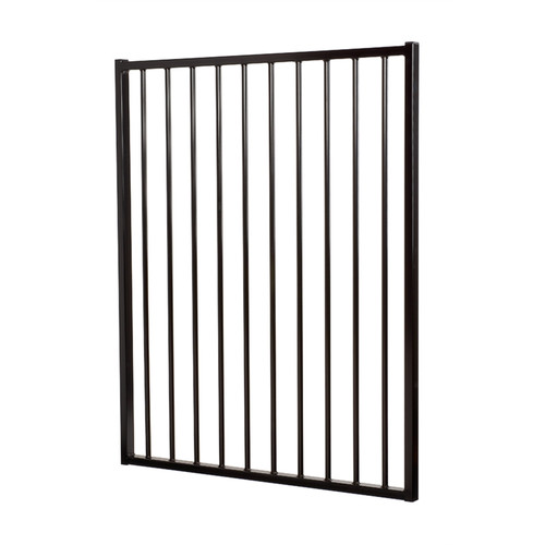 Single Gate Only In Black  975mm wide x 1.2m high