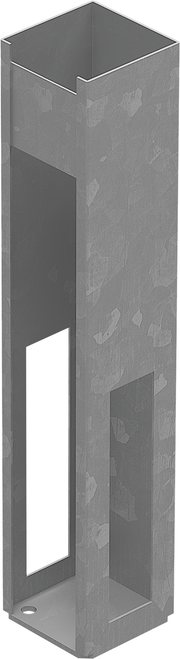 Concealed Base Plate - Heavy Duty - 620mm high (for fixing to concrete slabs or timber)
