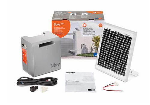 SOLAR POWER KIT for FILO 400 sliding gate motor