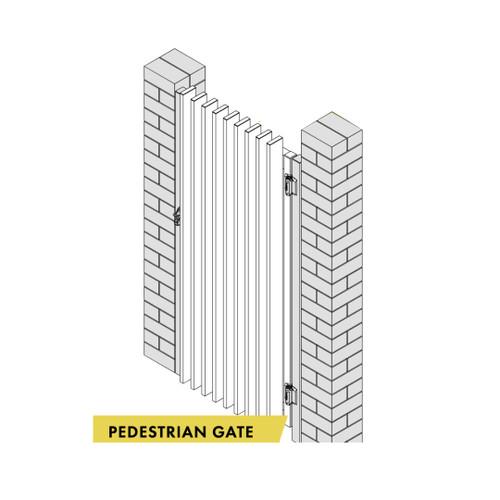 Pedestrian gate 1000mm wide x 1200mm high