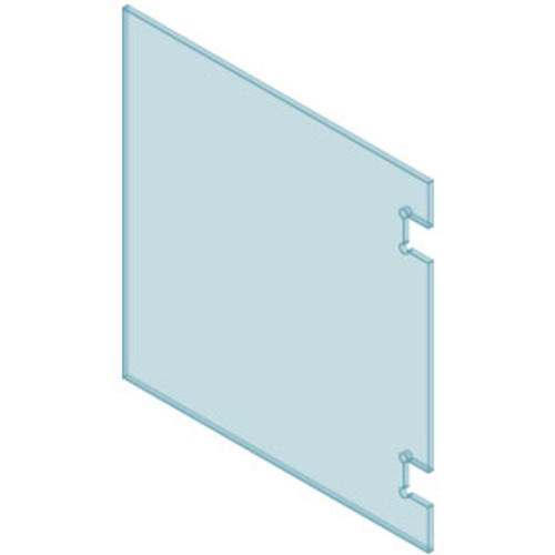 Polaris Soft Close Glass to Glass Hinge Panel