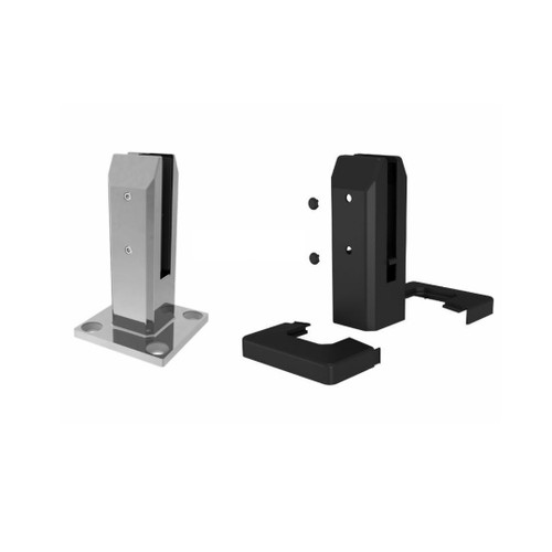 Stainless Steel Spigot With Insulated Cover - Black Or Grey - NO EARTHING REQUIRED