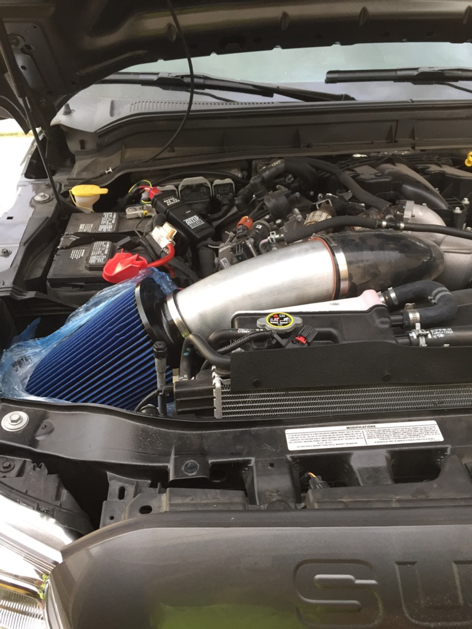 Absolute Performance 6 7 Powerstroke Cold Air Intake