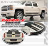 Fader-X Decal Kit for '14-'15 Silverado