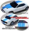 Wing Rally Stripes for 2015-Up Dodge Challenger