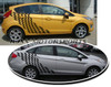 Checkered Decals for Ford Fiesta
