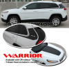 Warrior Decal Kit for '14-Up Jeep Cherokee