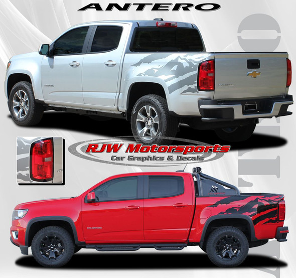 Antero Decal Kit for '15-Up Chevy Colorado