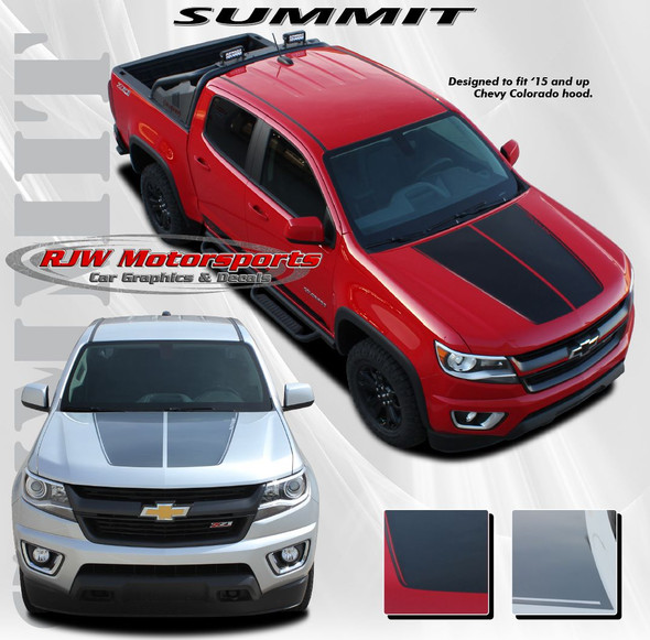 Summit Hood Decal for '15-Up Chevy Colorado