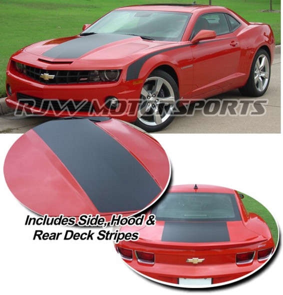 Single Hood Stripe & Side kit for Camaro '09-'13