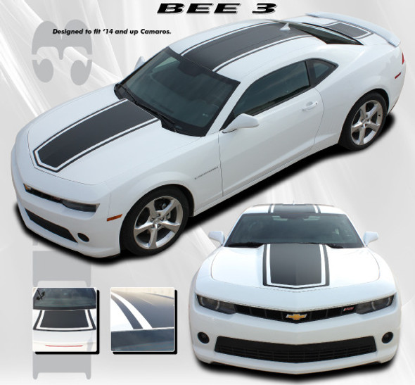 Bumble Bee 3 Style Stripes for '14-'15 Camaro