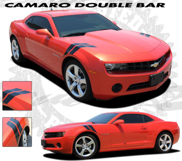 Double Bar Stripes for Camaro '09-'15