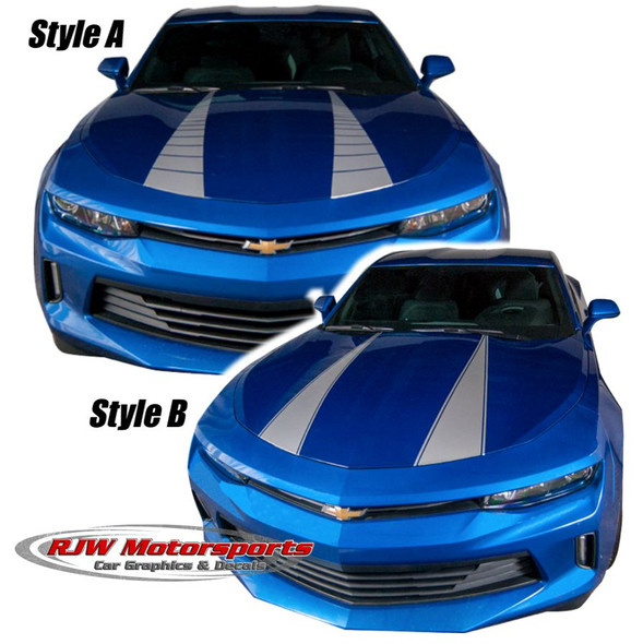 Dual Hood Stripes for Camaro '16-'18
