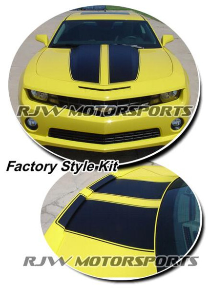Factory Style Rally Stripes for '10-'15 Camaro