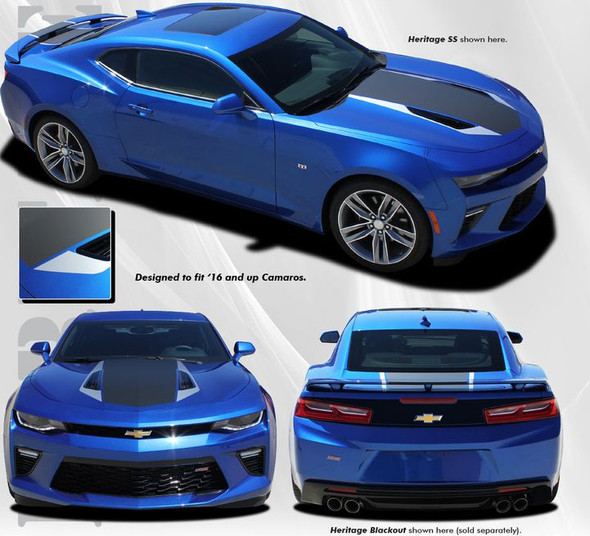 Heritage Stripes for 2016-2018 Camaro