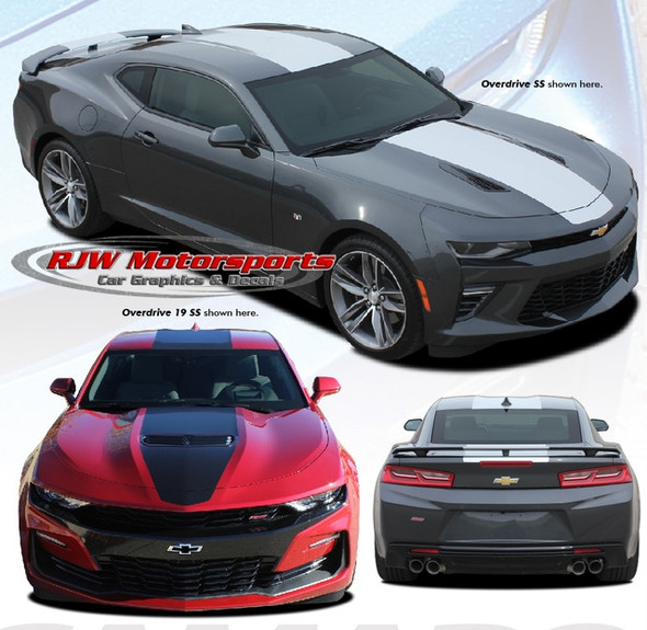 Overdrive Rally Stripe for 2016-2019 Camaro