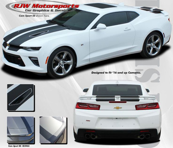 Racing Stripes for 2016-2018 Camaro