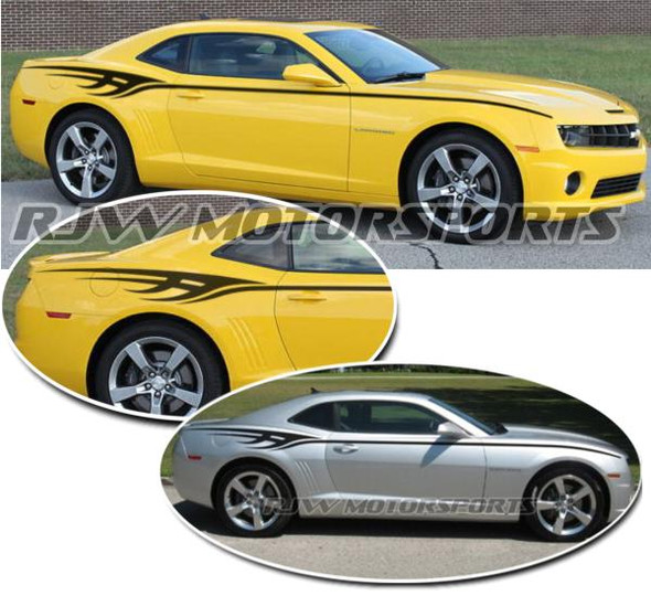 Tribal Body Stripes for Camaro - '09-'15