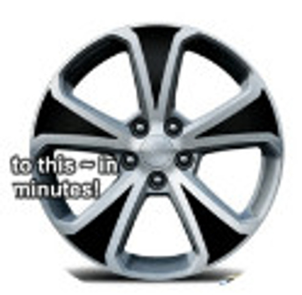 """17"""" Factory Wheels Decal Kit for Chevy Cruze"""