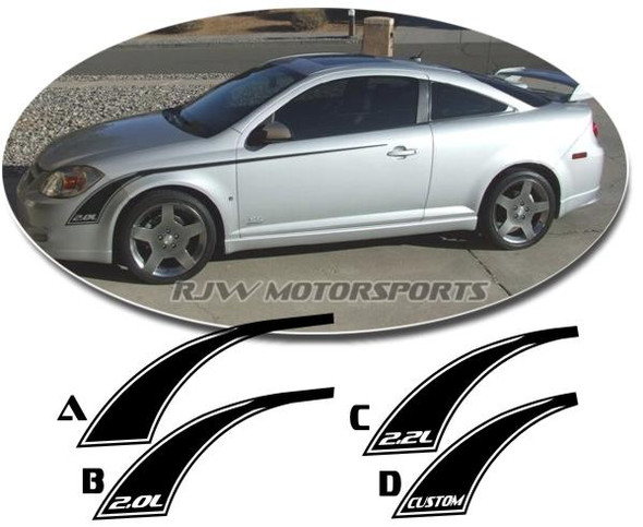 SS Style Stripe Kit for Chevy Cobalt