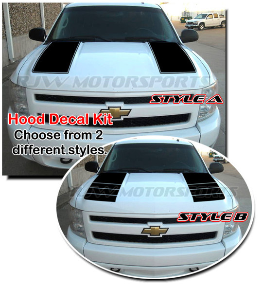 Hood Stripes for 07-13 Silverado