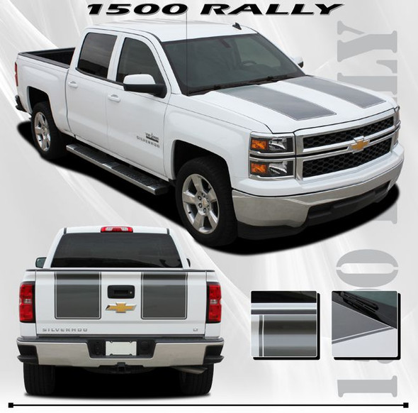 Racing Stripes for 2014-2015 Silverado
