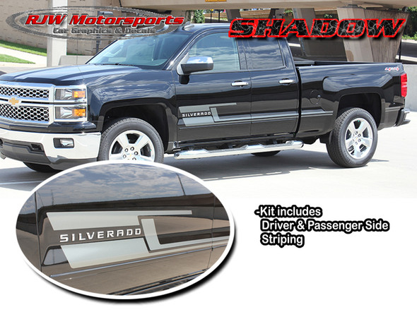 Shadow Stripes for 13-18 Silverado