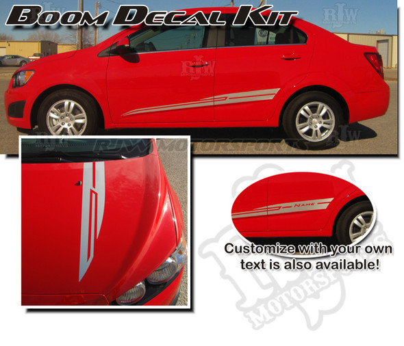 Boom Decal Kit for Chevy Sonic