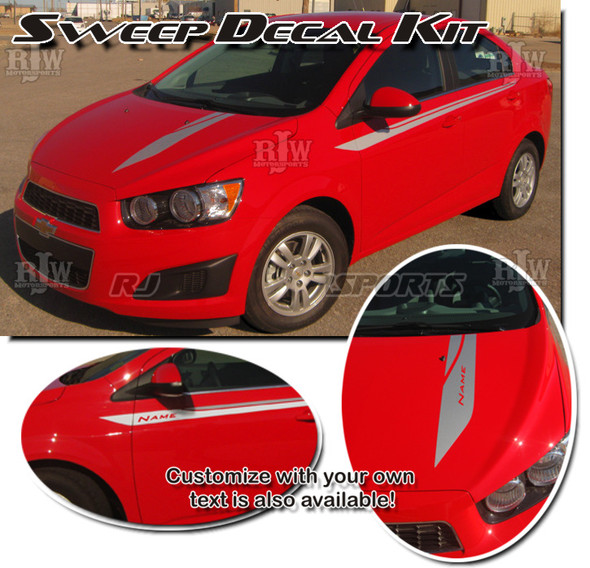 Sweep Decal Kit for Chevy Sonic