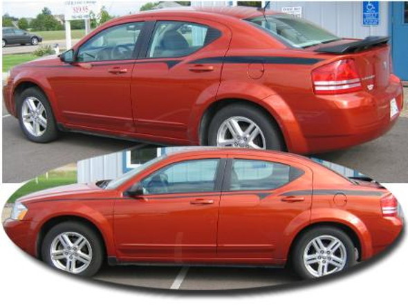 08-'14 Dodge Avenger Stripes